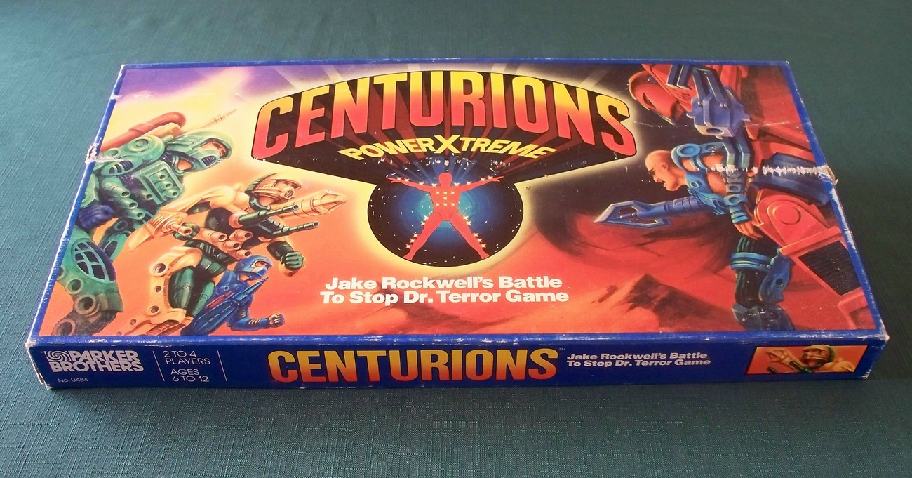 Primary image for Centurions PowerXtreme Board Game Parker Brothers 1986 Complete