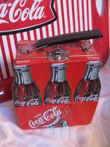 Little COCA-COLA Tin With Handle Looks Like Coke Carton - $19.99