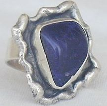 Blue hand made ring bhm 6 thumb200