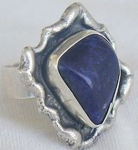 Blue hand made ring bhm 2 thumb200