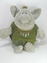 "Disney Grey Troll Green Cape Frozen Reversible Mossy Rock Plush 11"" soft - $9.89"