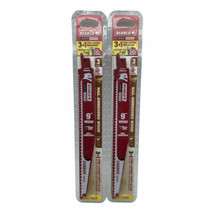 (New) Diablo DS0906CWS3 Reciprocating Saw Blade-3 (Pack of 2) - $21.77