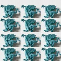 Doll House Shoppe Toy Ice Dragon Set of 12 Figures 11936 Micro-Mini Miniature - $12.20