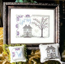 Spring cross stitch chart From The Heart  - $7.20