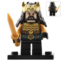 Thorin Oakenshield (Gold armour) The Hobbit Battle of Five Armies Minifigure Toy - $2.90