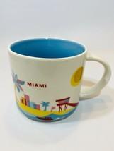 Starbucks You Are Here Miami Mug 2017 Colorful Bright EUC - $12.86