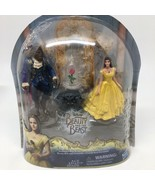 Disney's Beauty And The Beast Belle Enchanted Rose Scene Figures Playset... - $14.95