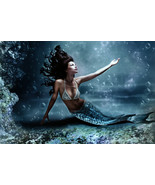 Mermaid Essence Spell - Full Moon 3X Cast For Beauty, Youth, Age Reversal  - $39.99