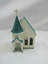 HALLMARK 1995 NOSTALGIC HOUSES AND SHOPS TOWN CHURCH ORNAMENT Vintage 32515 - $17.81