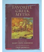 Favorite Greek Myths by Mary Pope Osborne Blue Ribbon Book - $6.99
