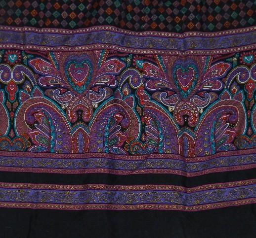 SK & COMPANY size 16 Midcalf Length Rayon Skirt