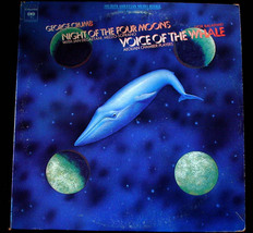 George Crumb - Night of Four Moons/Voice of Whale LP AVANT G - $10.00