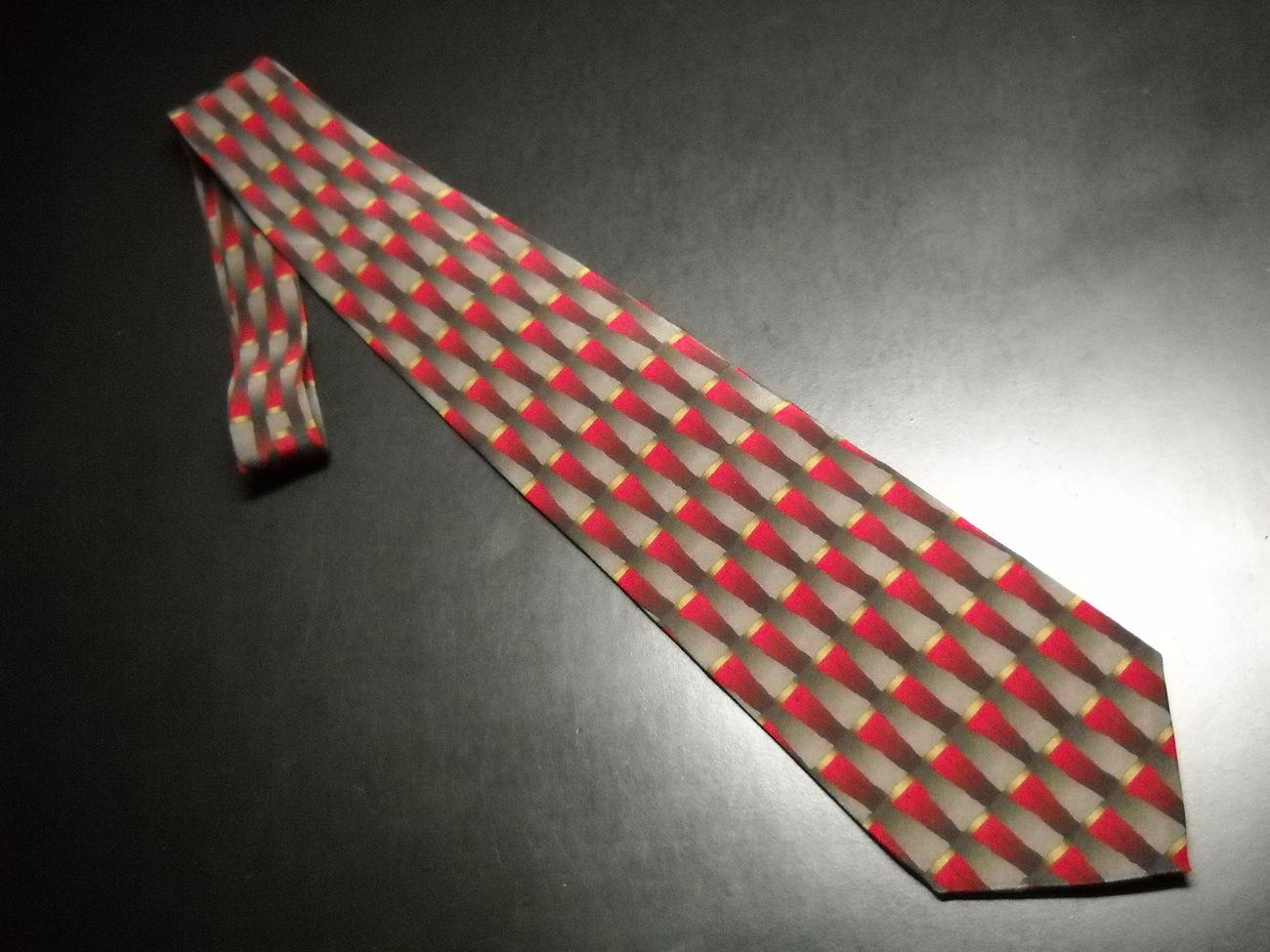 Tie grateful dead lost sailor fourteenth set reds greys 04