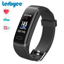 Lerbyee® Fitness Tracker GT101 Heart Rate Monitor Smart Bracelet Sleep M... - $27.32