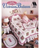 Fashion Doll Victorian Bedroom Crochet Barbie™ Afghan Lampshade Sham Hea... - $15.79