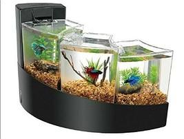 Aqueon Betta Falls Aquarium, Black - $42.69