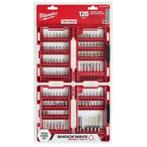 Milwaukee - 48-32-4496 - Shockwave Steel Driver and Impact Bit Set - 120... - $49.45