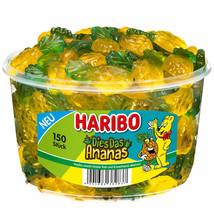 Haribo Das Ananas Bears - Pineapple -XL 1200g- Made In Germany-FREE Shipping - $39.59