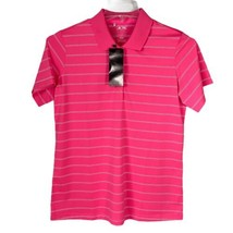 Adidas Pure Motion Golf Polo  New With Tags Womens Large Pink - $29.10