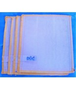 """Wood Fiber Cleaning Cloths by DOC Lot of 5 Small 7"""" x 5"""" Yellow - $26.68"""