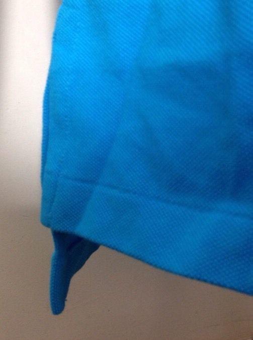 Ralph Lauren Polo Hommes Chemise Coupe Classique EXTRA PETIT XS Vif Bleu
