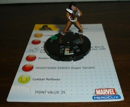 X-23 030 Marvel Heroclix Mutations And Monsters - $1.52