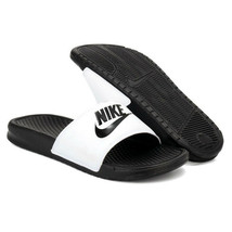 New Nike Banassi JDI 343880-100 White Slippers Men - $25.00
