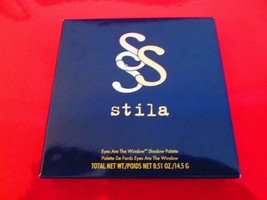 Stila Eyes Are the Window Shadow Palette ~ BODY ~ 100 % Authentic ~ New ... - $32.62
