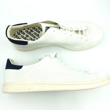 competitive price 8512e 3e1ac Adidas Hommes Blanc Bleu Marine Stan Smith S75148 13 P16  x02545 - £38.29  GBP