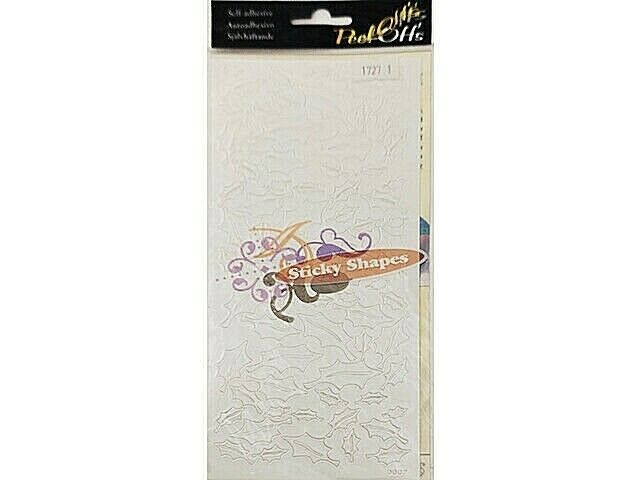 Peel-Offs Self-Adhesive Stick Shapes, Holly #0007