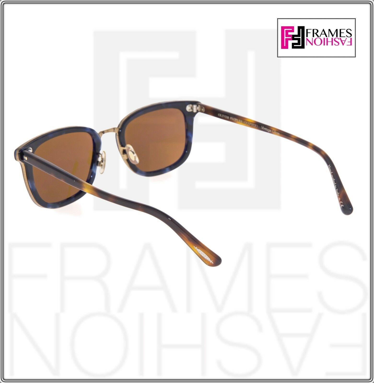 OLIVER PEOPLES KETTNER OV5339S Brown Blue Tortoise Cosmik Sunglasses 5339 image 3
