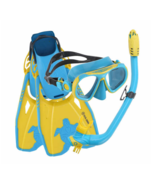 U.S. DIVERS (US Divers) Snorkeling for Youth 3-Piece Set Sz S (9-13) Blu... - $27.65