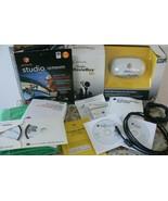 Bundled Software+Pinnacle Studio Moviebox Ultimate W/Green Screen Video ... - $197.99