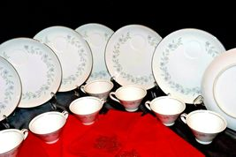 """G"" Plates Japan Fine China Dishes and teacups with Napkins AA20-2344 Vintage image 6"