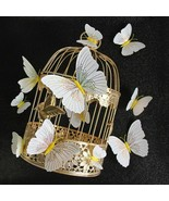 12Pcs/set Ambilight 3D Butterfly Wall Sticker Butterflies Home Decoratio... - €4,57 EUR