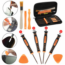 For Xbox One/Xbox 360/PS4/PS3 11in1 Repair Set Bag Case+Professional Screw - $40.37 CAD