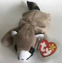 TY Beanie Baby Ringo The Raccoon 1995 PVC Pellets - $6.88