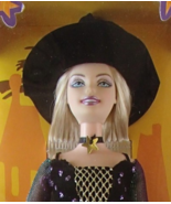 Halloween Star Barbie NIB Holiday Witch Doll 2005 Mattel Free Priority S... - £21.80 GBP