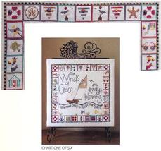 Winds Of Grace: One Bell Part 1 of 6 cross stitch chart SamSarah Designs - $7.20