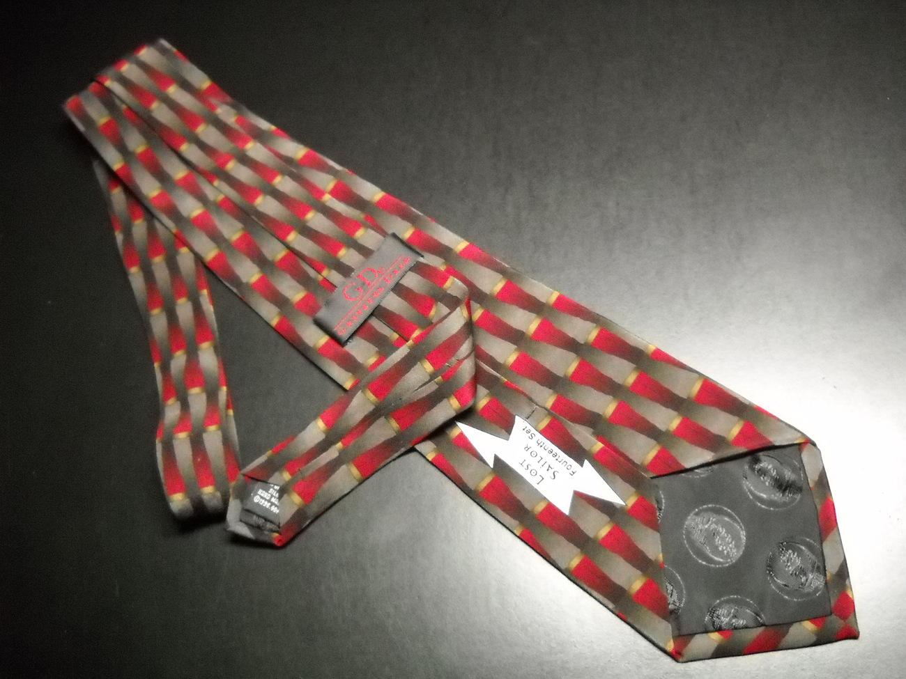 Grateful Dead Neck Tie Lost Sailor Fourteenth Set Greys Reds