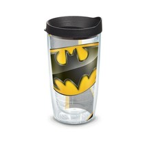 Tervis Batman Logo 16 Ounce Tumbler With Lid Black - $19.98
