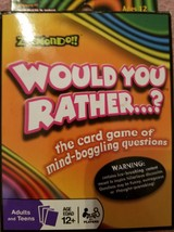 Would You Rather Classic Card Game - $34.99