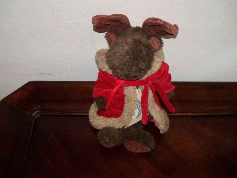 Primary image for Boyds Bears Plush Moose ~ Manfred von Merrymoose w/tag