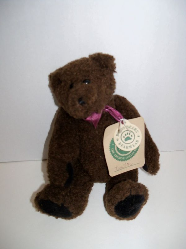 Primary image for Boyds Bears Teddy Bear ~ Newton ~ with Tags'