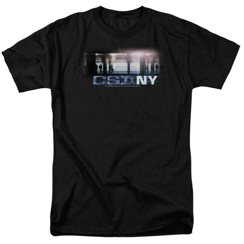 CSI NY t-shirt Crime Scene Investigation TV crime series graphic tee CBS128