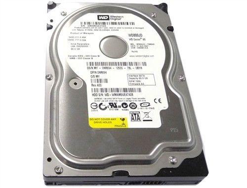 "LOT of 10 Seagate 7200 RPM 80GB 2.5/"" SATA Laptop Hard Drives TESTED"
