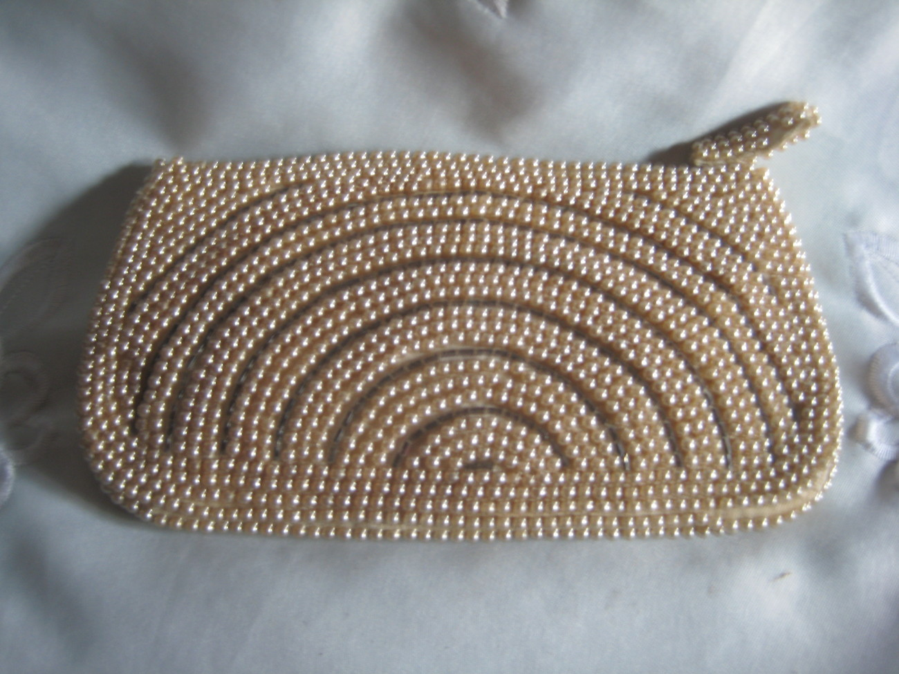 Pearl Clutch Purse Lovely