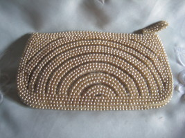 Pearl Clutch Purse Lovely - $10.00