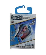 """Frozen Elsa SuperSled Kite 32"""" Nylon Frameless Skytails Handle Line Disney - $17.99"""