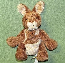 MARY MEYER SWEET RASCALS KANGAROO STUFFED ANIMAL BEANBAG PLUSH FLOPPY WI... - $14.03